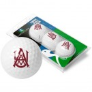 Alabama A & M Bulldogs Top Flite XL Golf Balls 3 Ball Sleeve (Set of 3)
