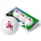 Arizona State Sun Devils Top Flite XL Golf Balls 3 Ball Sleeve (Set of 3)