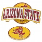 Arizona State Sun Devils Slider Clip with Golf Ball Marker (Set of 3)
