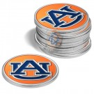 Auburn Tigers  Golf Ball Marker (12 Pack)