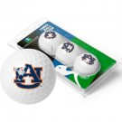 Auburn Tigers 3 Golf Ball Sleeve (Set of 3)