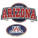 Arizona Wildcats Slider Clip with Golf Ball Marker (Set of 3)