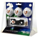 Bowling Green State Falcons 3 Golf Ball Gift Pack with Spring Action Tool
