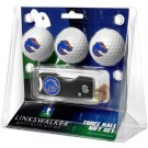Boise State Broncos 3 Golf Ball Gift Pack with Spring Action Tool