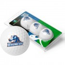 Boise State Broncos Top Flite XL Golf Balls 3 Ball Sleeve (Set of 3)