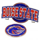 Boise State Broncos Slider Clip with Golf Ball Marker (Set of 3)