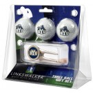 Brigham Young (BYU) Cougars 3 Golf Ball Gift Pack with Cap Tool