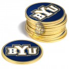 Brigham Young (BYU) Cougars Golf Ball Marker (12 Pack)