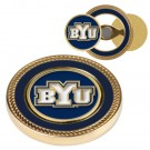 Brigham Young (BYU) Cougars Challenge Coin with Ball Markers (Set of 2)