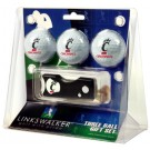 Cincinnati Bearcats 3 Golf Ball Gift Pack with Spring Action Tool