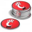 Cincinnati Bearcats Golf Ball Marker (12 Pack)