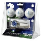 Citadel Bulldogs 3 Ball Golf Gift Pack with Kool Tool