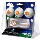 Clemson Tigers 3 Ball Golf Gift Pack with Kool Tool