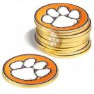 Clemson Tigers Golf Ball Marker (12 Pack)