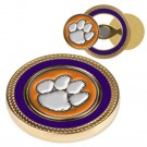 Clemson Tigers Challenge Coin with Ball Markers (Set of 2)