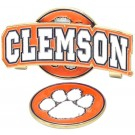 Clemson Tigers Slider Clip with Golf Ball Marker (Set of 3)