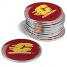 Central Michigan Chippewas Golf Ball Marker (12 Pack)