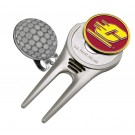 Central Michigan Chippewas Divot Tool Hat Clip with Golf Ball Marker (Set of 2)