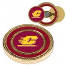Central Michigan Chippewas Challenge Coin with Ball Markers (Set of 2)
