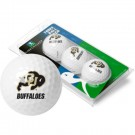 Colorado Buffaloes Top Flite XL Golf Balls 3 Ball Sleeve (Set of 3)