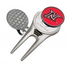 California State (Northridge) Matadors Divot Tool Hat Clip with Golf Ball Marker (Set of 2)