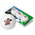 California State (Northridge) Matadors Top Flite XL Golf Balls 3 Ball Sleeve (Set of 3)