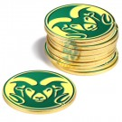 Colorado State Rams Golf Ball Marker (12 Pack)
