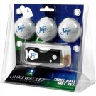 Creighton Blue Jays 3 Golf Ball Gift Pack with Spring Action Tool