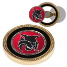 Central Washington Wildcats Challenge Coin with Ball Markers (Set of 2)