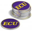 East Carolina Pirates Golf Ball Marker (12 Pack)