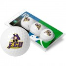 East Carolina Pirates Top Flite XL Golf Balls 3 Ball Sleeve (Set of 3)