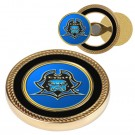East Tennessee State Buccaneers Challenge Coin with Ball Markers (Set of 2)