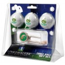 Florida A & M Rattlers 3 Golf Ball Gift Pack with Cap Tool