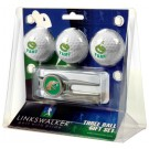Florida A & M Rattlers 3 Ball Golf Gift Pack with Kool Tool