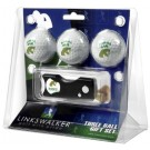 Florida A & M Rattlers 3 Golf Ball Gift Pack with Spring Action Tool