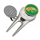 Florida A & M Rattlers Divot Tool Hat Clip with Golf Ball Marker (Set of 2)