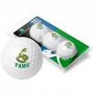 Florida A & M Rattlers Top Flite XL Golf Balls 3 Ball Sleeve (Set of 3)