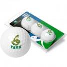 Florida A & M Rattlers Top Flite XL Golf Balls 3 Ball Sleeve (Set of 3)