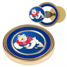 Fresno State Bulldogs Challenge Coin with Ball Markers (Set of 2)