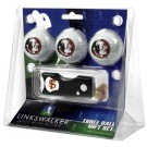 Florida State Seminoles 3 Golf Ball Gift Pack with Spring Action Tool