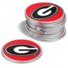 Georgia Bulldogs Golf Ball Marker (12 Pack)