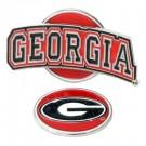 Georgia Bulldogs Slider Clip with Golf Ball Marker (Set of 3)