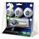Georgetown Hoyas 3 Ball Golf Gift Pack with Kool Tool