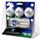 Gonzaga Bulldogs 3 Ball Golf Gift Pack with Kool Tool