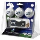 Georgia Southern Eagles 3 Golf Ball Gift Pack with Spring Action Tool