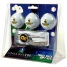 Georgia Tech Yellow Jackets 3 Ball Golf Gift Pack with Kool Tool