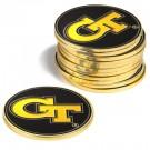 Georgia Tech Yellow Jackets Golf Ball Marker (12 Pack)