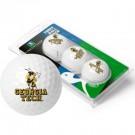 Georgia Tech Yellow Jackets Top Flite XL Golf Balls 3 Ball Sleeve (Set of 3)