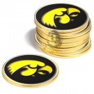 Iowa Hawkeyes Golf Ball Marker (12 Pack)