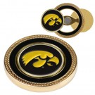 Iowa Hawkeyes Challenge Coin with Ball Markers (Set of 2)